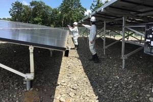 太陽電池モジュール(パネル)の点検