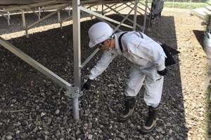 施設の全体点検と整備